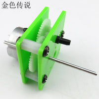 310 gear motor reducer motor educational handmade accessories