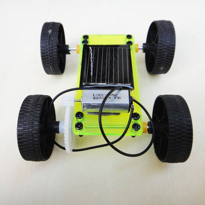 Mini Solar Toy Educational DIY Car Children Puzzle IQ Gadget Hobby Robot D Type