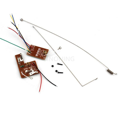 4CH RC remote control 27MHz/40Mhz circuit PCB transmitter&receiver board for toy car