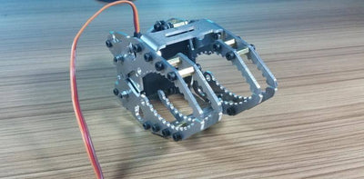 SNM-400 Metal Aluminum alloy Manipulator robot gripper arm claw with Servo