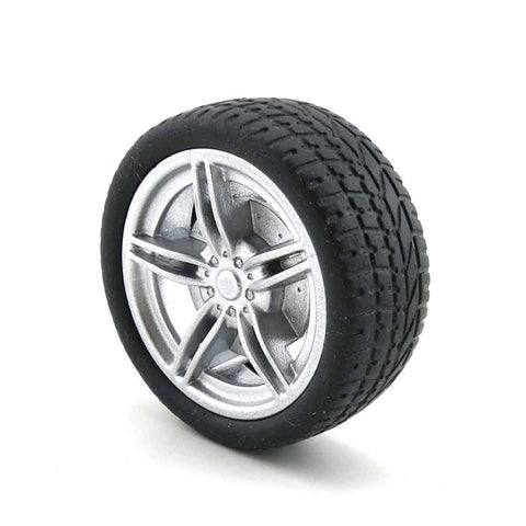 40mm/48mm 1:10 emulation car tire rubber wheel  toy  2.9mm hold suit for 3mm axle
