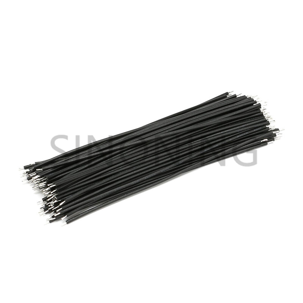 10pcs Tin-Plated Breadboard Jumper Cable Wire 200mm 20AWG For Arduino Flexible Two Ends PVC Wire Electronic