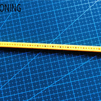 7mm*7mm*153mm plastic strip stick model accessories diy column hole 1.95mm