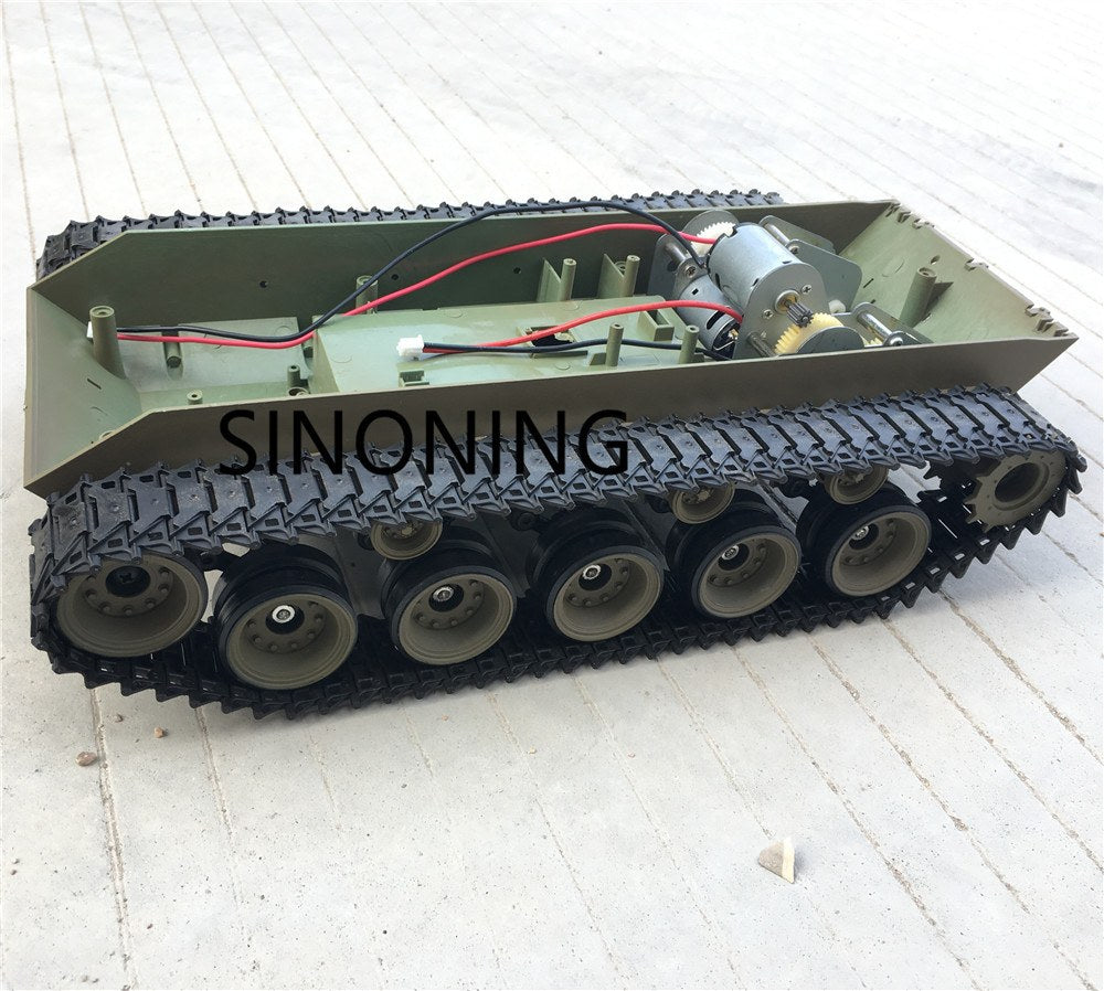 Supper Big suspension Robot Tank Chassis Platform Heng Long 3839 walker bulldog Model Part