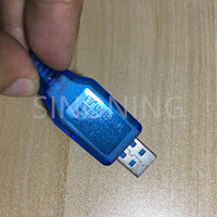 4.8V/250mA USB charger SM plug with charge lamp