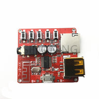 Car Bluetooth 4.1 MP3 WAV Decoding Board 3W Speaker Amplifier Audio Receiver Module Support USB/TF/U-DISK