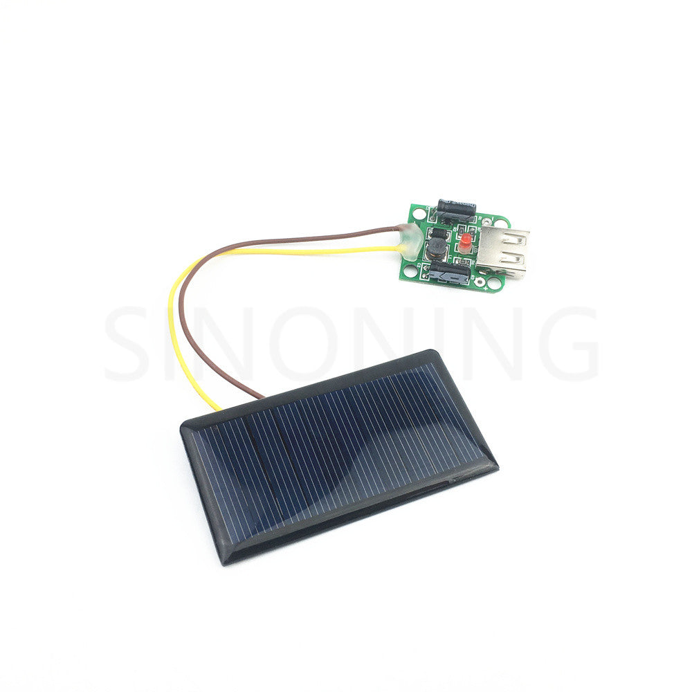 DIY USB Solar power Charger Toy Science Experiments  Exploration