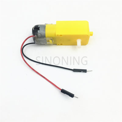 1PCS Gear DC Motor Robot Gear Motor TT with Dupont Male Female Plug for Arduino