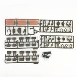 full site Henglong battle tank 3838-1 1/16 accessory box UV sticker self-assembly package