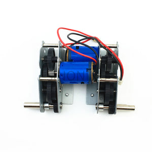 Henglong 3818-1 1:16 remote control tank accessories ultimate bearing version high strength alloy steel gear box blue skin motor