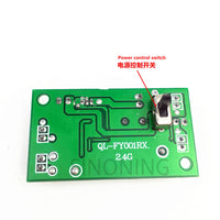 4CH2.4G wireless remote control with receiver board DIY throttle car