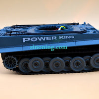 German Tiger Robot Tank Chassis 1:32 robotic chassis with cover LED light