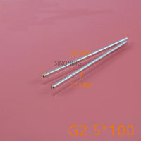 2.5 * 100mm metal diy car shaft axle drive shaft axis for 2.5mm hole wheel diy SN96