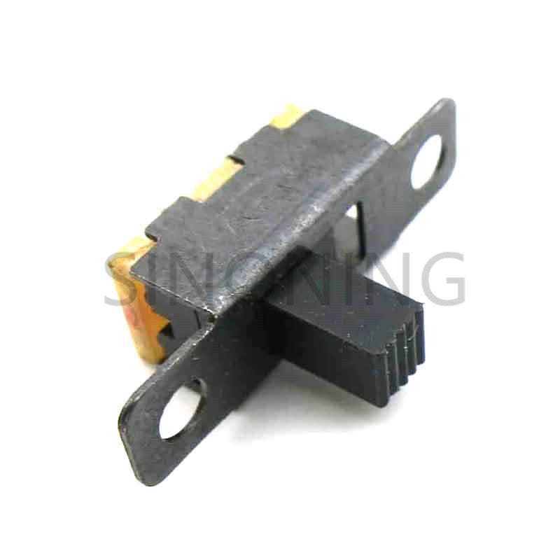 10pcs Toggle switch mini switch diy with hole electronic components 2 files 3 feet SS-12F15G5