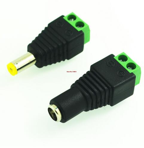Wiring DC head terminal DC female monitoring project power connector male and female pair 1 pair