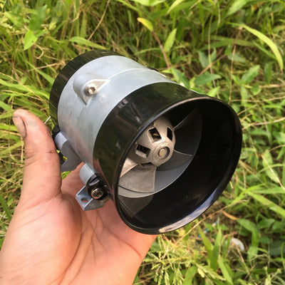 12V Fan Turbine Violence Automotive Turbocharger Violent Fan Turbocharged High Speed