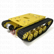 TS100 Robot Tank Chassis Shock Absorption Metal  Caterpillar Suspension Crawler Caterpillar for Arduino