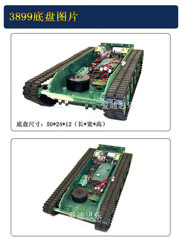 HENGLONG 1:16 China Chinese 99 Type 3899 Tank Robot Chassis supper big