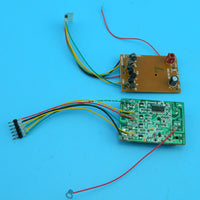 Four-way remote control circuit board launch board receiver board DIY car toy 30 meter SNRM5