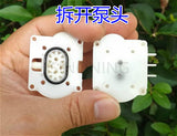Small gear pump DC motor water pump mini oil pumping self - absorption