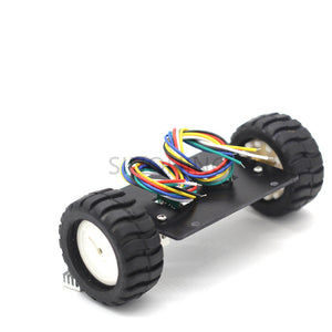 Mini car chassis balance 2WD self-balancing robot N20 with encoder