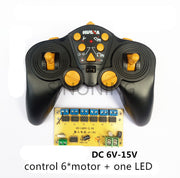 12 CH high-power 2.4G remote control and receiver car ship Tank excavator DIY 6-15v  SNRM44
