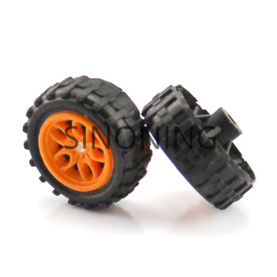 2*18mm plastic wheel mini wheel DIY electronic suite wheel technology production