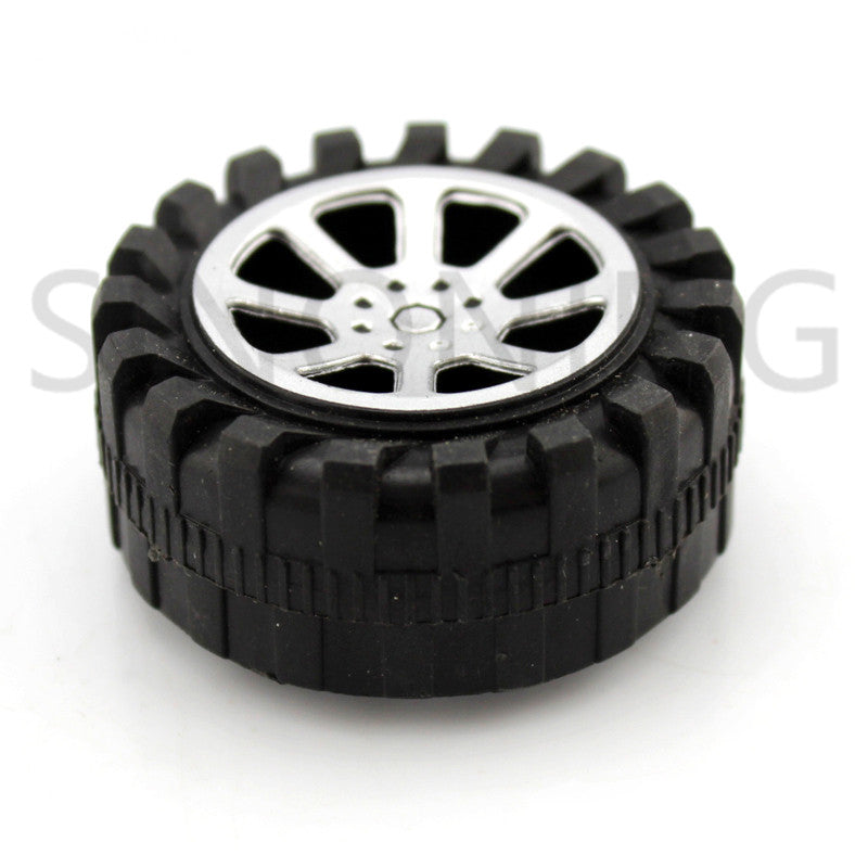 42mm diamater plastic toy wheel toy small flywheel model accessories 1.9mm hole B38