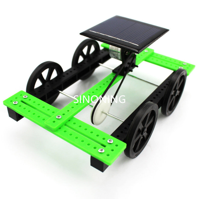 sunlight solar diy toy car hand made green new education design SNP15