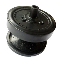 Black Plastic Wheel for RC Tank Chassis Caterpillar