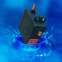 K2 Full Metal Digital Servo, 15kg High torque,180 degrees fully waterproof,for robot arm, climbing car