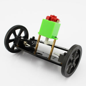 DIY toy car steering system assembly  kit Steering front axle  trolley model SM39