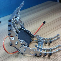 SNM400 Metal Aluminum alloy Manipulator robot gripper arm claw with Servo