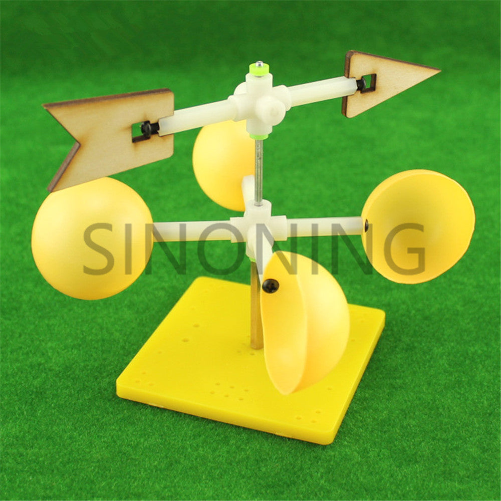 Wind vane experiment kit direction Scientific model Middle school student DIY tech gizmo