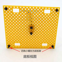 5PCS 7590 plastic model base plate fixed piece of bread frame robot production patrol