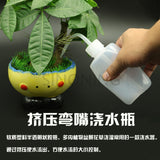 Industrial Curtain Bottle Elbow Plastic Bottle Washing oiler Drop Bottle 250ML