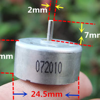 YG300R 300 solar motor toy model DIY small fan 1.5-6V mute