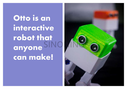 OTTO arduino Nano ROBOT open source Maker obstacle avoidance DIY