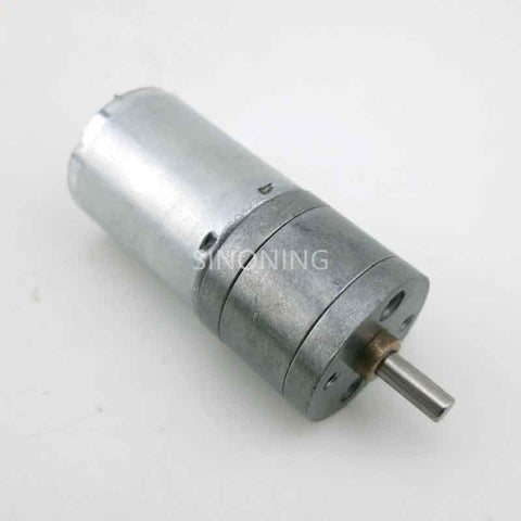 25mm metal gear motor high torque 370 motor 6v DC M13
