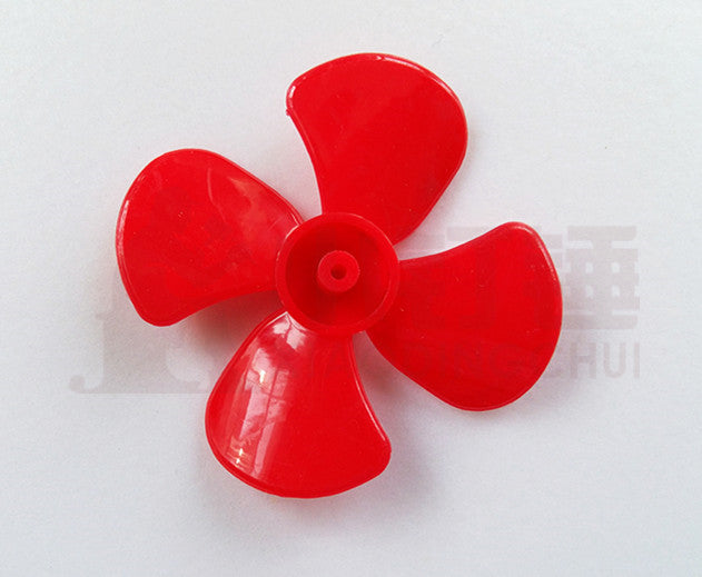 500pcs 60mm diameter four-leaf propeller model paddle DIY tight fit 2MM shaft