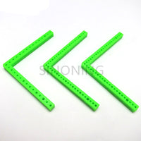 10pcs L  rectangular plastic bar frame car chassis accessory DIY materials building block