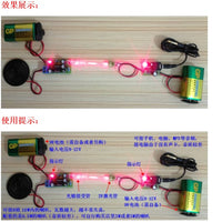 Laser Wireless Audio Transmission Kit Laser Infrared Teaching Experiment Fun Electronic Production Parts