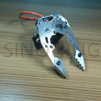 Mechanical claw DIY robot arm metal small gripper Compatible with MG996R servo
