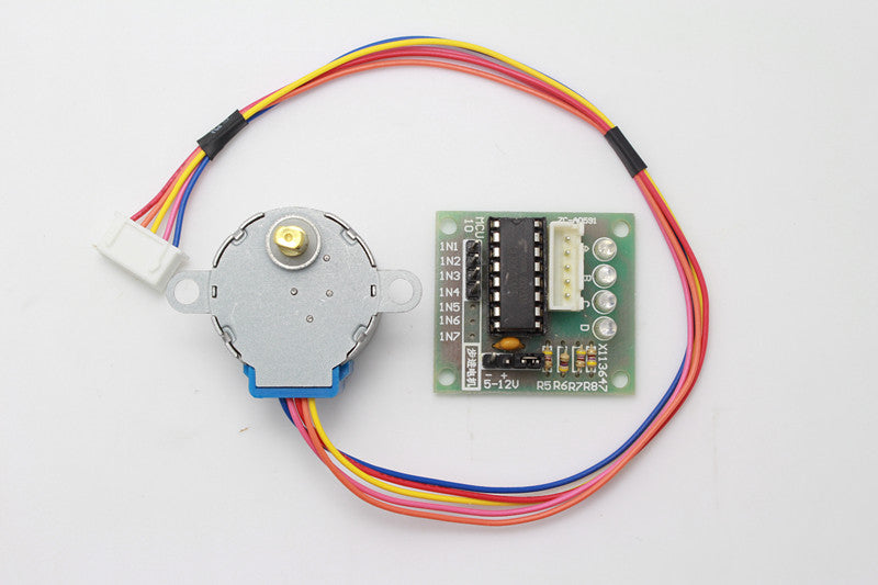 Stepper Motor + Driver Board ULN2003 5V 4-Phase 5 Line 5V 28mm