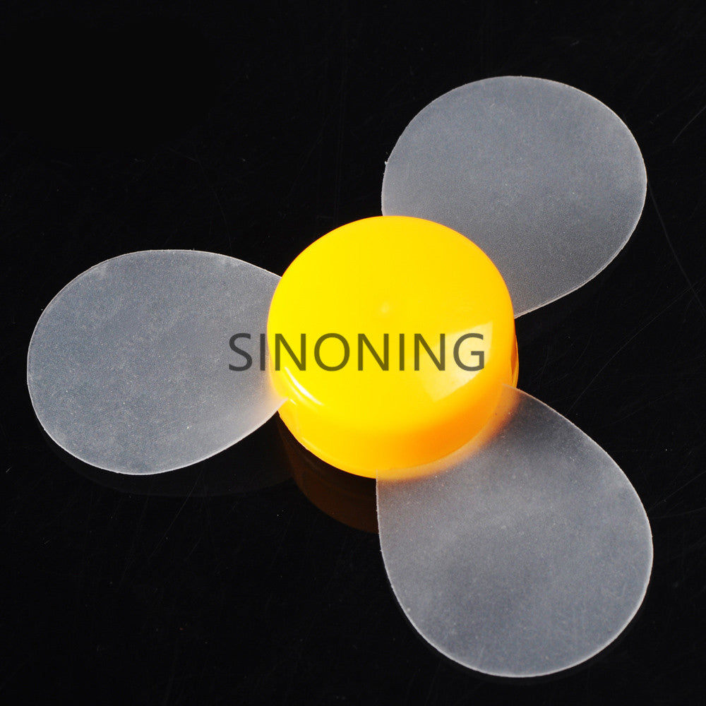 72mm transparent soft blade propeller DIY model material