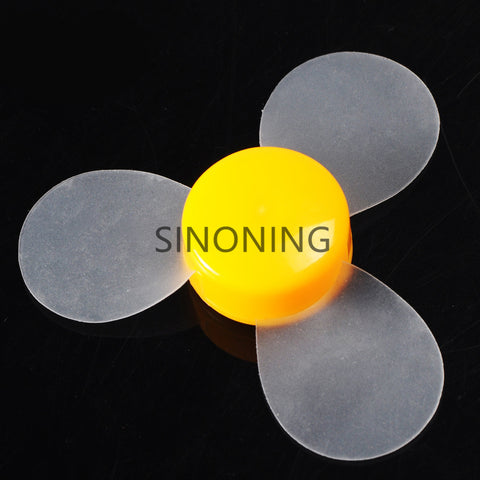 500PCS  72mm transparent soft blade propeller DIY model material