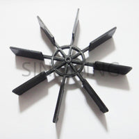 10pieces Model ship paddle boat propeller DIY small big oar ming ship 2mm hole