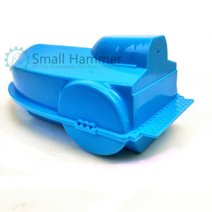 Blue frog boat cover, ship's hull, shallow bottom, can be used as a shallow bottom hull