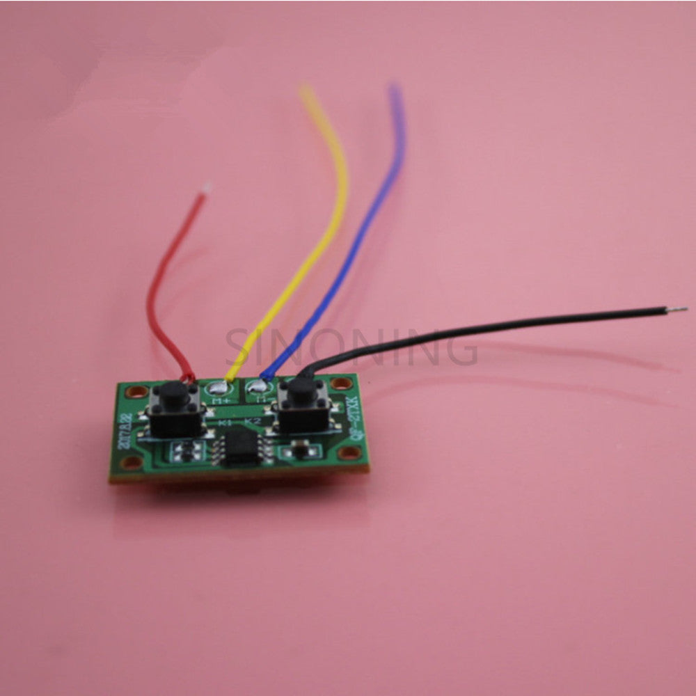 Electronic Version Of Two Channel Wired Remote Control Board For The Power Circuit A Forward Reverse Electric Motor Controller Controllable One And