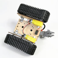 PS2 Remote Control 4DOF track detection Vehicle Car chassis arduino Assembled DIY kit